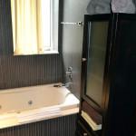 2 separate bathrooms at Azure Luxury Suites Miami Beach