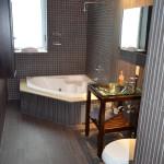 Upscale Bathroom with Jacuzzi at Azure Luxury Suites Miami Beach