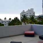 Enjoy our balcony area at Azure Luxury Suites Miami Beach